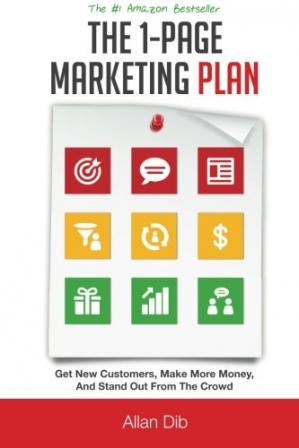 Book cover The 1-Page Marketing Plan: Get New Customers, Make More Money, And Stand out From The Crowd
