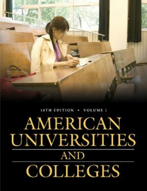 Portada del libro American Universities and Colleges  Two Volumes  (American Univerisites and Colleges)