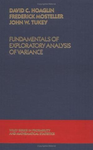 Copertina Fundamentals of Exploratory Analysis of Variance (Wiley Series in Probability and Statistics)