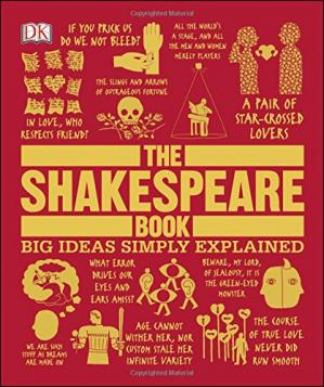 A capa do livro The Shakespeare Book (Big Ideas Simply Explained)