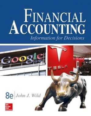 表紙 Financial Accounting: Information for Decisions