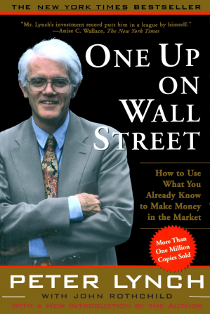 Book cover One Up on Wall Street