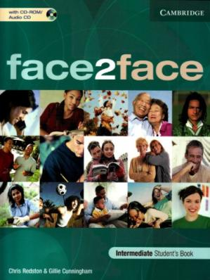 Sampul buku Face2Face - Intermediate - Student's book