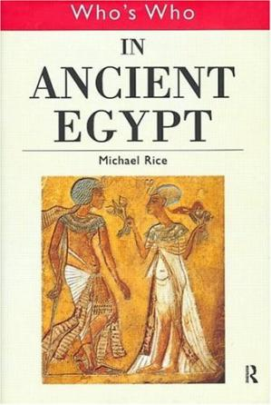 Kulit buku Who's Who in Ancient Egypt