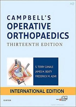 Book cover CAMPBELL'S OPERATIVE ORTHOPAEDICS
