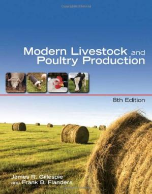 Copertina Modern Livestock and Poultry Production, 8th Edition