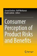 पुस्तक कवर Consumer Perception of Product Risks and Benefits