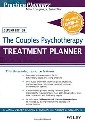 Copertina The Couples Psychotherapy Treatment Planner, with DSM-5 Updates, 2nd Edition