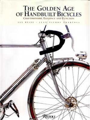 Обложка книги The Golden Age of Handbuilt Bicycles