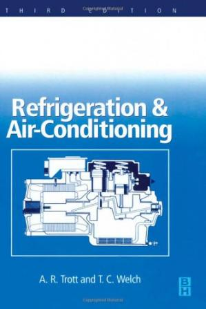 Book cover Refrigeration and air-conditioning