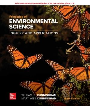 Book cover Principles of environmental science ; inquiry et applications