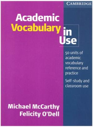 Book cover Academic Vocabulary in Use
