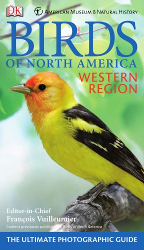 غلاف الكتاب American Museum of Natural History Birds of North America Western Region