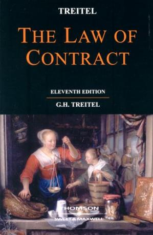 Book cover Treitel on the Law of Contract