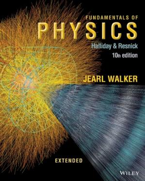 Book cover Fundamentals of Physics, 10th Edition Solution Manual