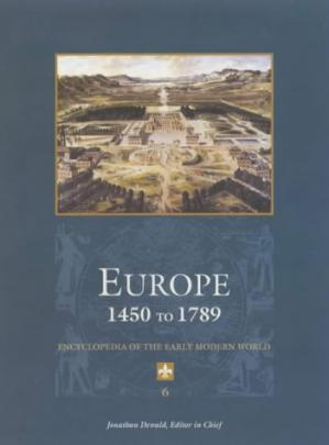 Copertina Europe 1450 to 1789: encyclopedia of the early modern world