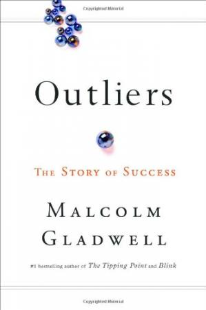 A capa do livro Outliers: The Story of Success