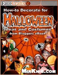 Εξώφυλλο βιβλίου How To Decorate Halloween: Projects from Bloggers