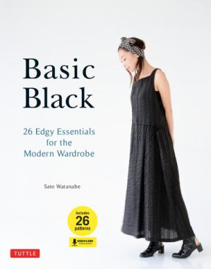 A capa do livro Basic Black: 26 Edgy Essentials for the Modern Wardrobe