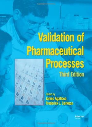 Обкладинка книги Validation of Pharmaceutical Processes