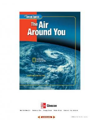 Book cover Glencoe Science: The Air Around You, Student Edition