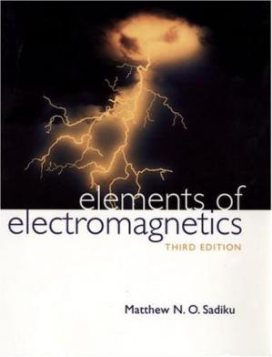 Book cover Elements of Electromagnetics
