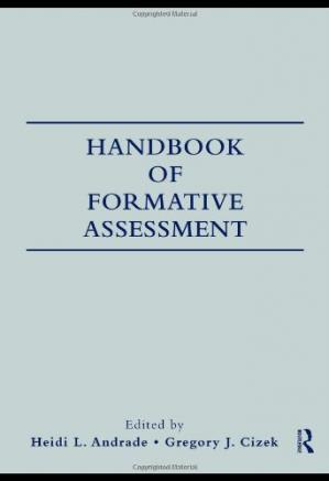 Book cover Handbook of Formative Assessment