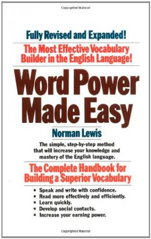 Couverture du livre Word Power Made Easy