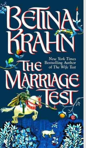 Book cover The Marriage Test
