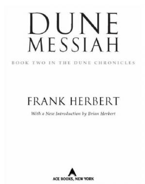 Book cover Dune Messiah