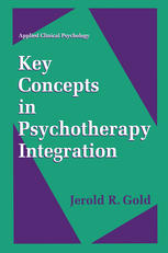 Book cover Key Concepts in Psychotherapy Integration