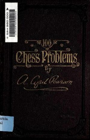 Buchdeckel One Hundred Chess Problems