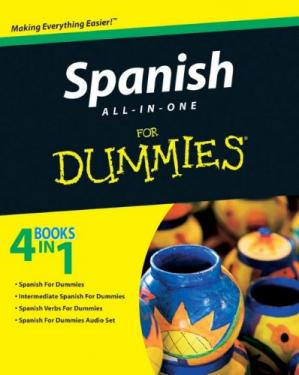 ปกหนังสือ Spanish All-in-One For Dummies