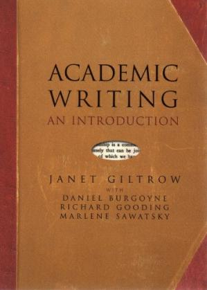 Book cover Academic Writing: An Introduction