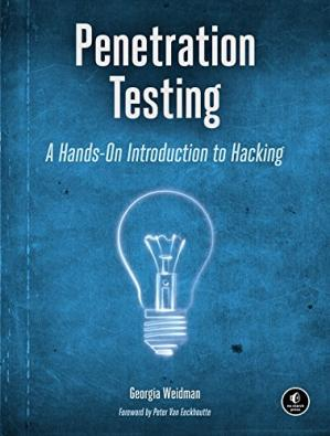 Portada del libro Penetration Testing: A Hands-On Introduction to Hacking