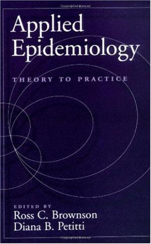 पुस्तक कवर Applied Epidemiology. Theory to Practice