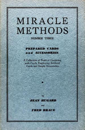 Book cover Miracle Methods n. 3