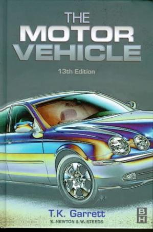 Book cover The Motor Vehicle