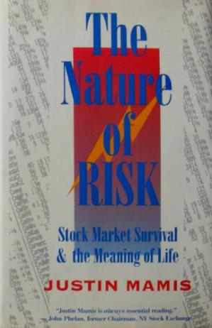 Portada del libro The Nature of Risk: Stock Market Survival and the Meaning of Life