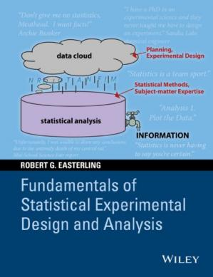 A capa do livro Fundamentals of Statistical Experimental Design and Analysis