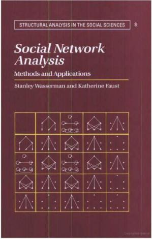 पुस्तक कवर Social Network Analysis. Methods and Applications