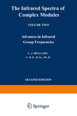 Book cover The Infrared Spectra of Complex Molecules: Volume Two Advances in Infrared Group Frequencies