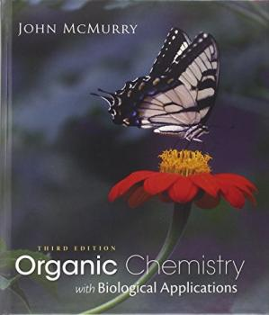Book cover Organic chemistry with biological applications