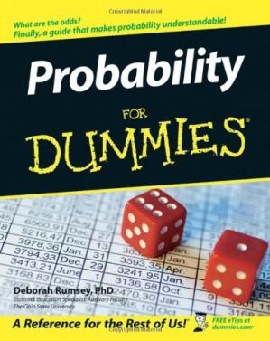Book cover Probability For Dummies