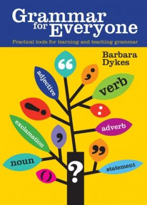 Book cover Grammar for Everyone: Practical Tools for Learning and Teaching Grammar