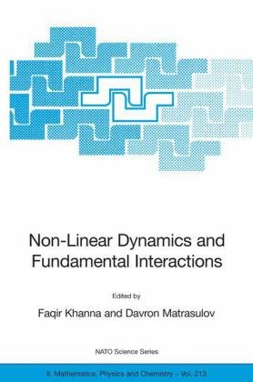 पुस्तक कवर Non-Linear Dynamics and Fundamental Interactions (NATO Science Series II: Mathematics, Physics and Chemistry)