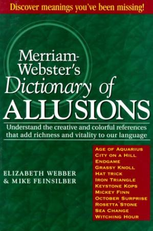 Book cover Merriam-Webster's Dictionary of Allusions
