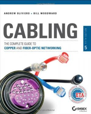 A capa do livro Cabling: The Complete Guide to Copper and Fiber-Optic Networking