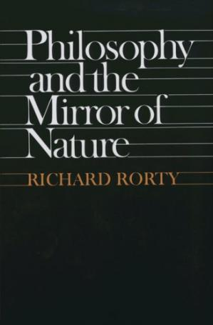 Book cover Philosophy and the Mirror of Nature