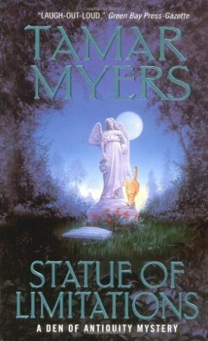 Book cover Statue of Limitations: A Den of Antiquity Mystery
